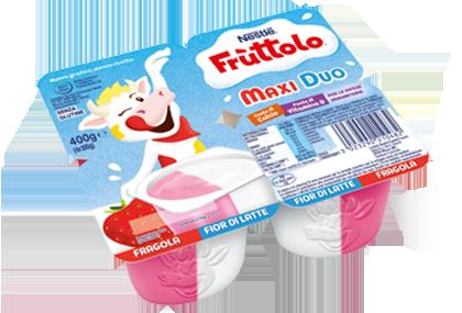 Frùttolo Maxi Duo Fragola e Fiordilatte