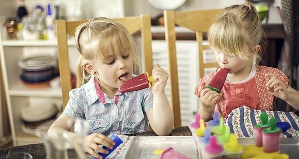Ghiaccioli per bambini