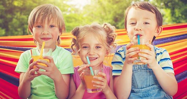 Succhi di frutta per bambini