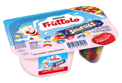 Frùttolo Yogurt & Smarties® fragola
