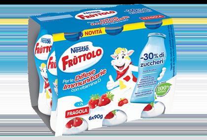 Frùttolo Difese Immunitarie gusto fragola