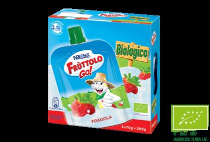 Frùttolo GO! Biologico Fragola
