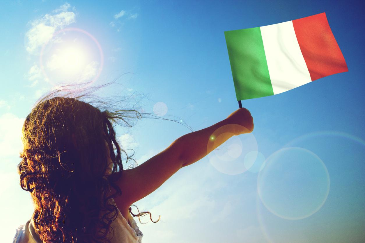 La bandiera italiana spiegata ai bambini