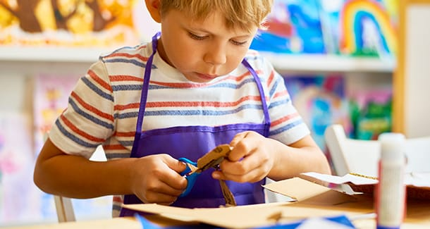 Lavoretti facili per bambini