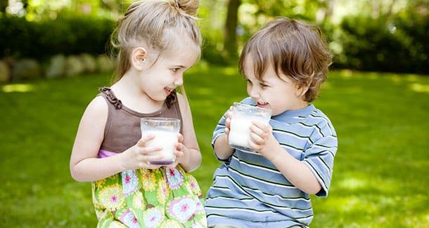 Latte pastorizzato per bambini