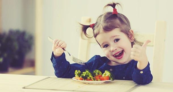 importanza di una dieta equilibrata nei bambini