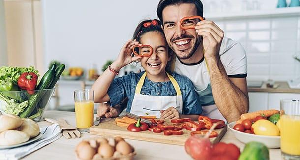 I bambini e il loro rapporto con il cibo