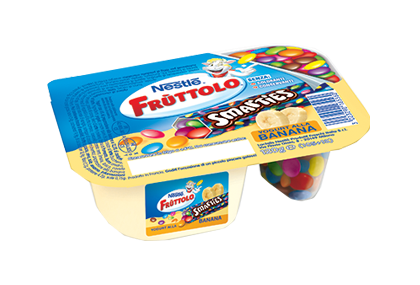 Frùttolo Yogurt & Smarties® banana 1x120g