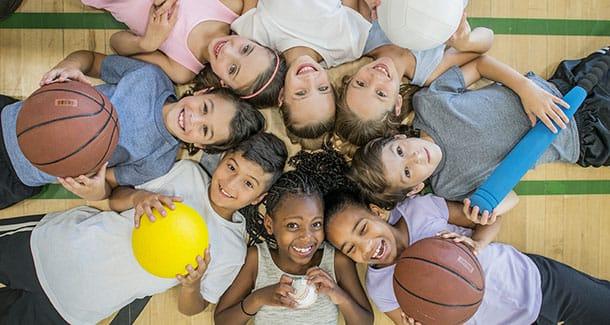 La dieta ideale per i bambini che praticano sport