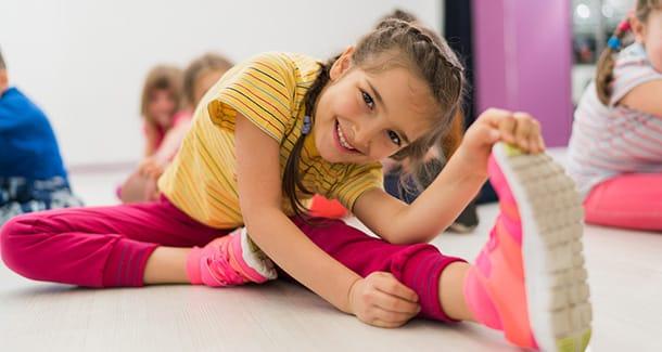 Stretching per bambini: fa bene?