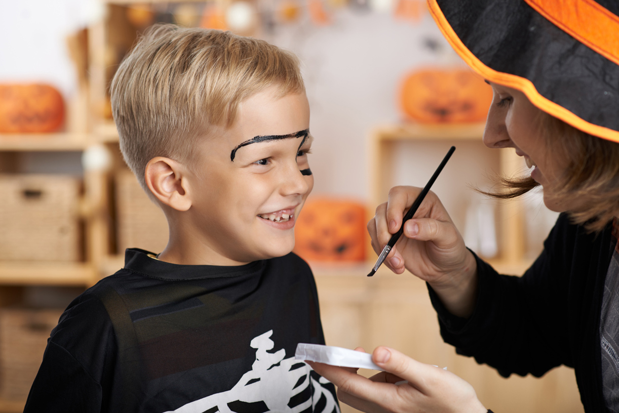 Trucco Halloween bambini: idee mostruose facili da realizzare!