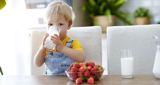 Valori nutrizionali del latte