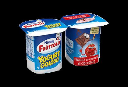 Frùttolo Goloso Fragola con pezzetti di cioccolato 2x115g